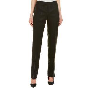 Lafayette 148 Barrow linen pant trouser straight